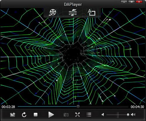 Trình chơi nhạc DAPlayer miễn phí cho Windows